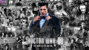 Doctor Who: The Name of the Doctor Finale Poster by dalekdom-fanart