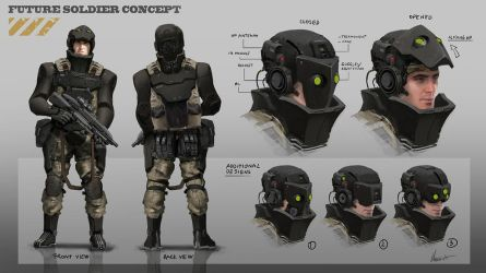 Future soldier concept by AlbyU