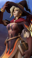 Witch Mercy by Snoopsahoy