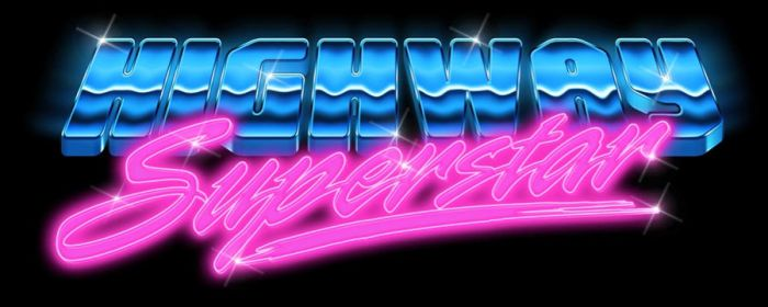Eighties Logo - Highway Superstar by Bulletrider80s