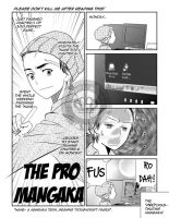 The PRO mangaka by gieph