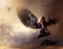 Winged destiny by AnnMLoveArt