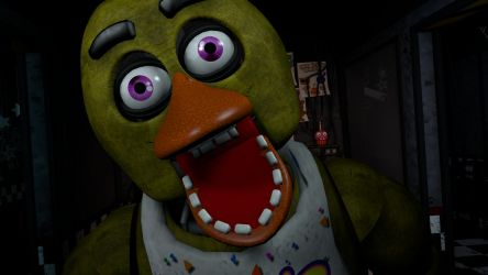 [FNaF SFM] Chica Jumpscare Remake [4K] by TimmyHeadNoseDeviant