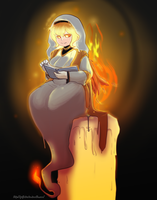 WoW: Lecture au coin du feu by Geeflakes-art