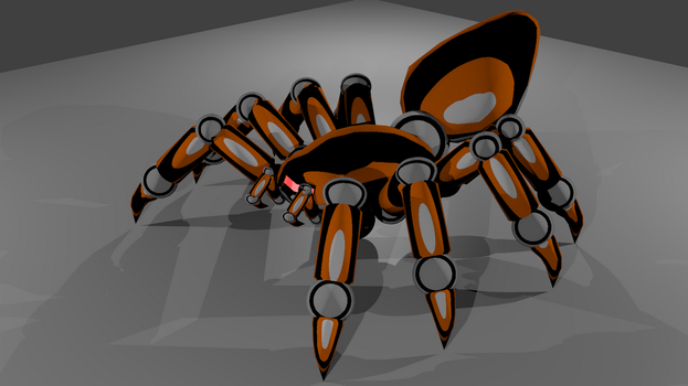 CSDF SpiderBot Version 6 by Frostridge-Dragoone