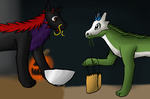 Trick or Treat by hydranoid09