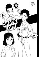 Just Draw! #16: Shape Up! Cover by i-n-o-e