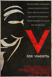 They Should Be Afraid - V for Vendetta Poster by edwardjmoran