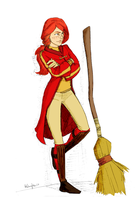 Ginny Weasley Colored by free-energy