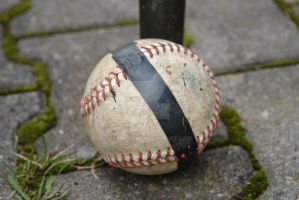 Wounded Baseball by RevRaph