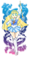 Lillie: Sailor Cosmog by Xero-J