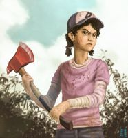 The Walking Dead Game : Clementine by mrs1989