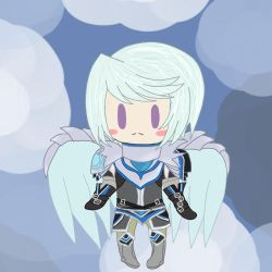 Mikleo as Chalcedony Akerman by AnjuSendo
