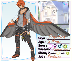 [Z] Fiche personnage Regulus by StyriaNoSaint