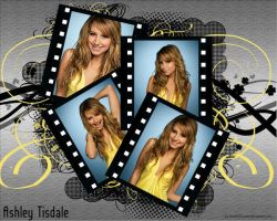 Ashley Tisdale Wallpaper 2 by HiKaRii90