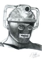 Cyberman from the Tombs by Ralphmax