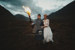 Marriage on the Highlands by Quadraro