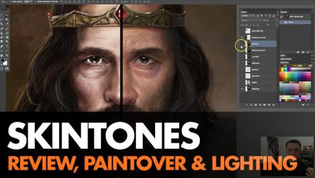 Skintone Paintover - video by ClintCearley