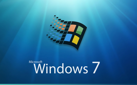Windows 7 bootscreen by orthuga