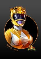 Power Rangers Trini Kwan/Yellow Ranger by le0arts