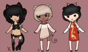 Little Adopts -CLOSED- by LazyRaptor