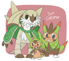 Team Chespin SPOILERS
