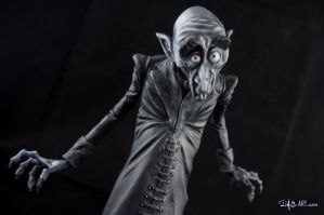 [Garage kit painting #11] Nosferatu statue - 014 by DasArt