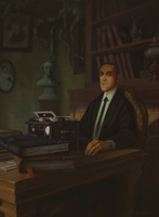 Lovecraft Portrait by J-Aguilera-1