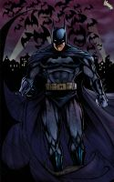 The Batman Colored by theharmine