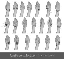 TechNomadic Tattoos by art-anti-de