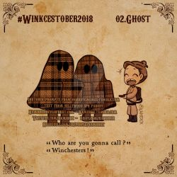 Winkcestober 2018 day 02: Ghost by KamiDiox