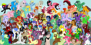 Brony Community Heroes Banner (Complete!) by SoulAkai41