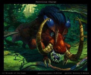 Ferocious Charge by caramitten