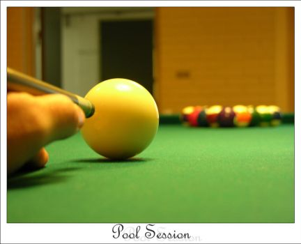 Pool Session by evenstarr