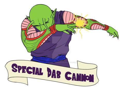 Special dab cannon by UltimateMagicalBoy