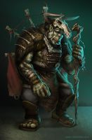 Orc Shaman by mictones