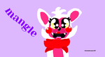 fnaf world mangle by theshadowpony357