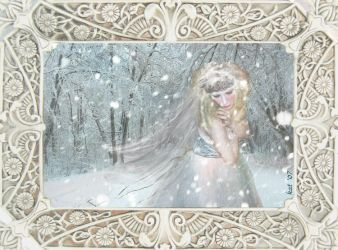 Winter's Bride FRAMED by katastrophes
