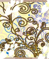 Flowers and Swirls PS Brushes by Coby17