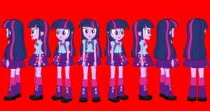 Eqg Twilight Flash Puppet By Yoshipapaercrafter-d8 by Humberto2000