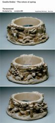 Candle Holder - The return of spring by sculptor101