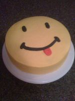 Smiley Face by LickTheBowlBakery