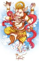 Lord Ganesh by In-Sine
