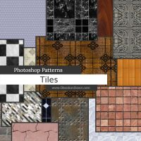 Tiles Photoshop Patterns by redheadstock
