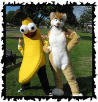 .:BANANA AND DINGO:. FTW by sparkycom