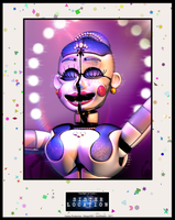 Sister Location - Ballora Poster by GamesProduction