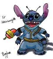 Fallout Stitch (Request) by The-B-Meister