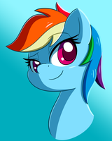 Rainbow Dash by Esfelt