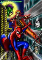 Spider-Man and Naruto by GreenRaptor15