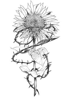 The Evil Sunflower by vicious-mongrel